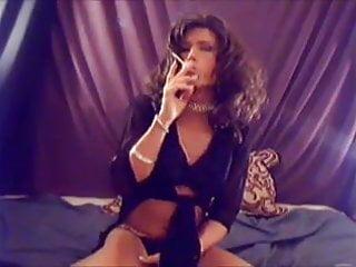TV TS Brooke Chambers Sexy Smoking 2