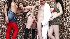 Grandpa Doesn't Know Who to Fuck First!Foursome Extravaganza