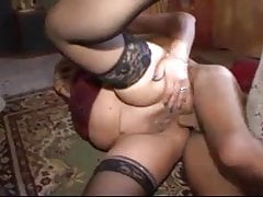 fat mature anal fucked by new lover