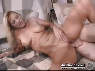 Tanned beach blonde exgf practices deep throating sexy bff