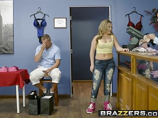 Preview 2 of Brazzers - Real Wife Stories - If The Bra Fits Fuck It scene