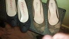 cum on shoe