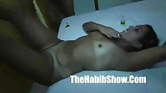 Thick n juicy Brazilian Pussy banged in Rio