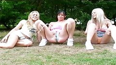Hot Girls Pissing In Park