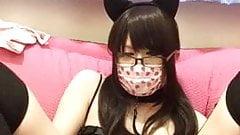 Japanese CD kitty jerking