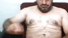 Turkish daddy cumming hard