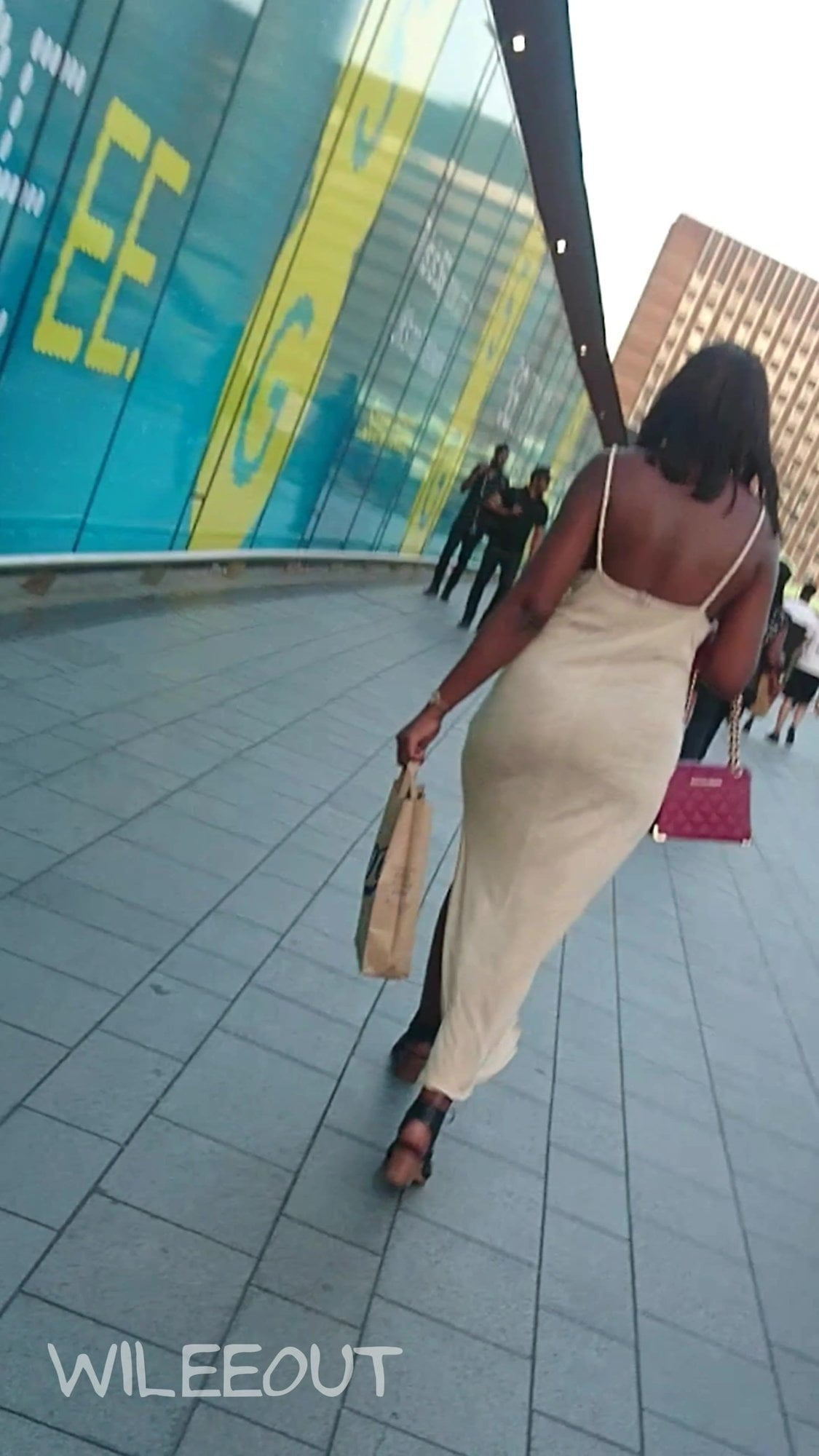 Candid Phat Ass Tight Sundress - Big Round Booty Porn 94-6224