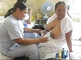 Milk Pumps On Asian Boobs