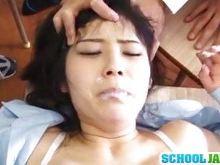 Schoolgirl Ruka Kanae group action