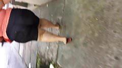 BBW CANDID ASS PUERTO RICAN