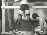 Hot Girl Wants some Extreme Action (1950s Vintage)