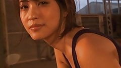 Asuka Kishi in Swimsuit - non nude