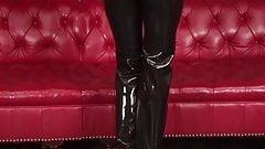 Natasha Latex Tuxedo Outfit