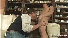 Boy entring penis in girls pussy