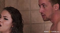 Brazzers - Sharing The Shower scene