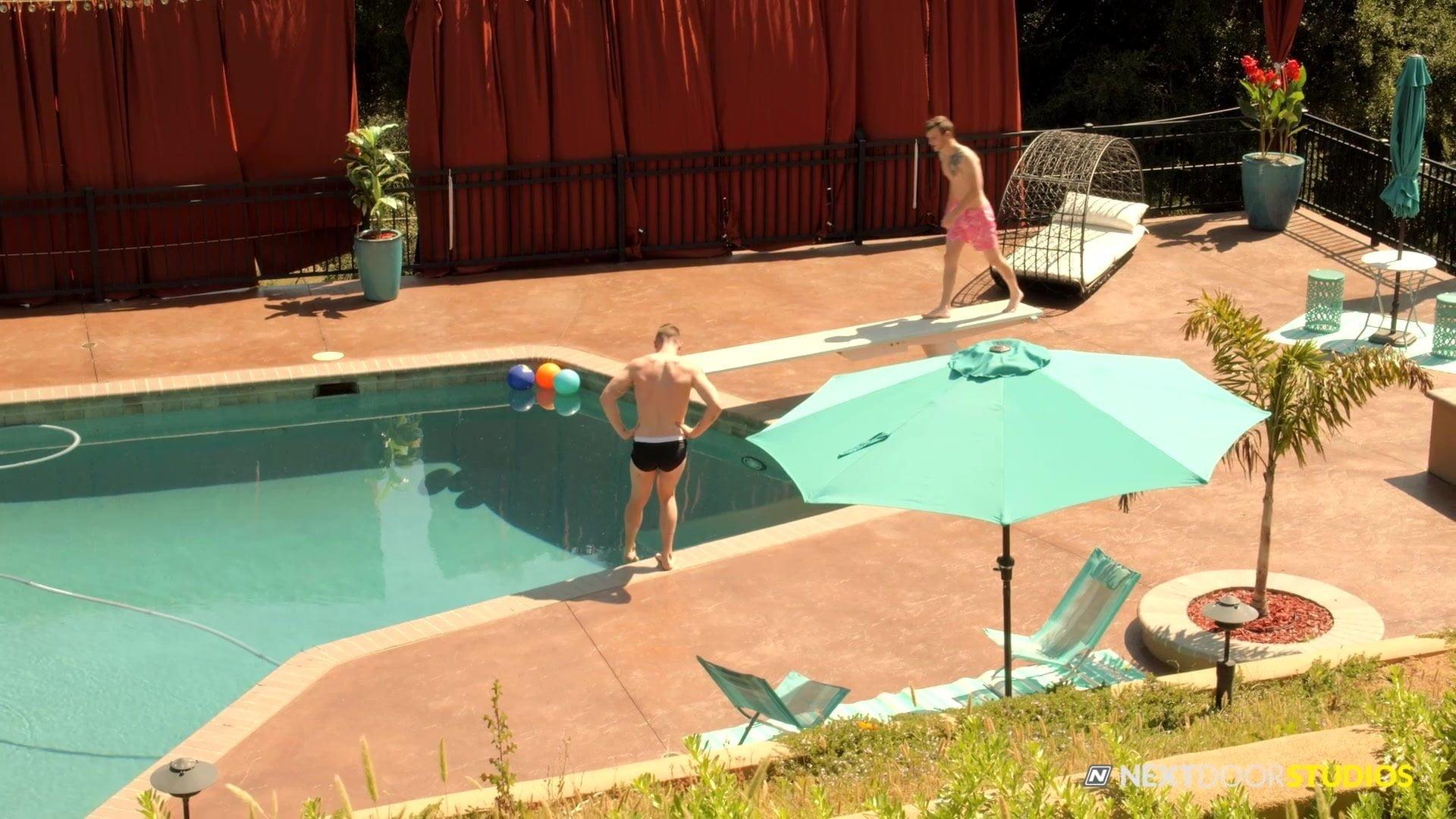 NextDoorStudios Spitroast By The Pool
