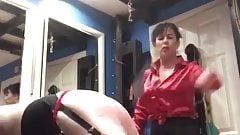 Dino Moci spanked by mistress jojo