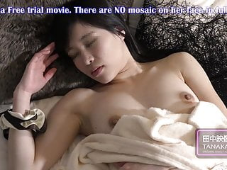 Japanese Beautiful Model Relaxing Shower Stretching