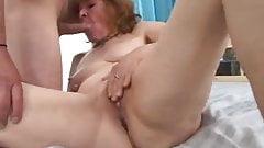 Flushed Granny Fucked