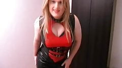2010 Black and red latex
