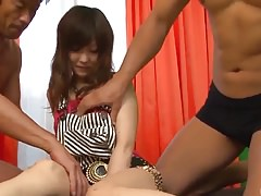 Miku Airi gets jizz to heal her demolished pussy