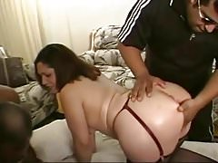 Latina PAWG Dalilah Threesome