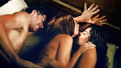 Jessica Parker Kennedy 3some Sex Scene On ScandalPlanet.Com