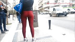 Hot young tight ass in leggings