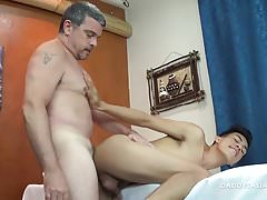 Daddy Fucks Asian Boy Argie Raw