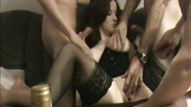 Preview 1 of privat GB gangbang - german