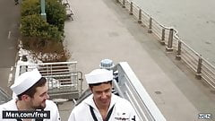 Men.com - Griffin Barrows and Rafael Alencar - Fleet Week