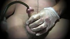 sissy tranny toy sounding urethral cock lingerie nylon