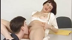 LUSTY German Boss wants to be FUCKED in the ASS