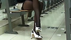 Sexy Legs in the Classroom
