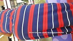 No Panty Bbw Black granny Upskirt