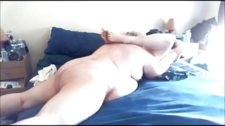chub couple sex in bed