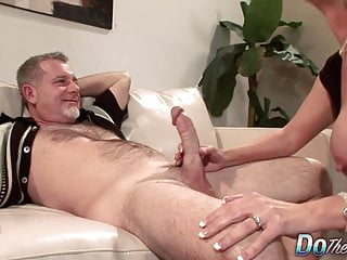 Preview 1 of Mature Wife Fucks Stud in Front of Hubby