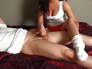 Download video bokep Hooters Girl Sock Job Mp4 terbaru