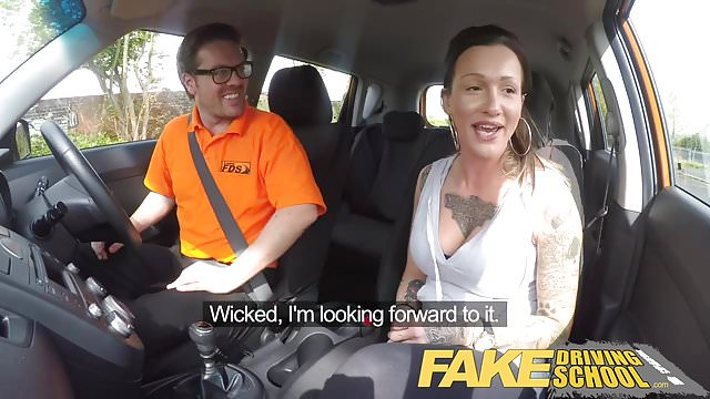 Preview 1 of Fake Driving School Messy creampie advanced lesson