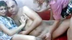 Lucky romanian guy on webcam