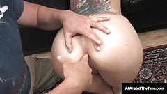 Inked Babe Tricia Oaks Fucked In Wide Open Gaping Asshole