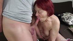 HAIRY REDHEAD GRANDMA SEDUCE TO FUCK BY YOUNGER GUY's Thumb
