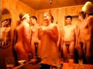 Russian Straight Guys Are Naked In Russian Bath Crazy Video