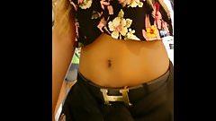 Novinha com barriga linda! Teen with pretty belly!