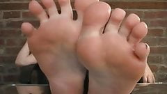 Patricia's perfect feet