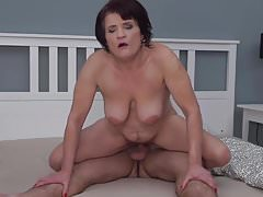 Mature mom having sex with lucky son Thumbnail