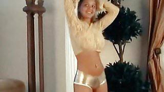 SOMEBODY  - curvy big boobs teen bouncy dance in hotpants