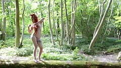 naked witches in forest