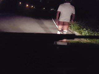 na estrada exibindo - daring flashing on road 4