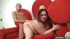 Surprise for hot big beautiful woman